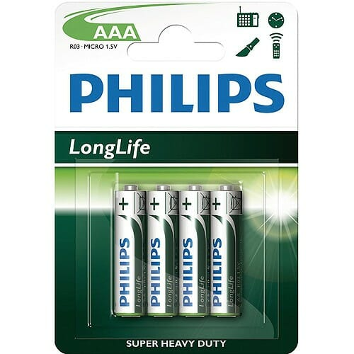 Philips AAA Batteries