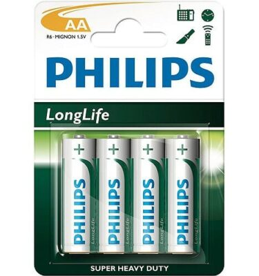 Phillips AA Batteries