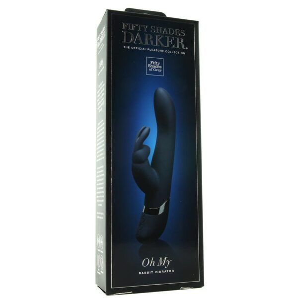 Fifty Shades Darker Oh My USB Rechargeable Rabbit Vibrator Box